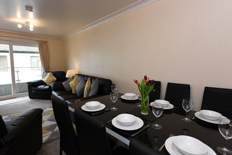 Dartside Holidays Property Accommodation Dartmouth Living Room