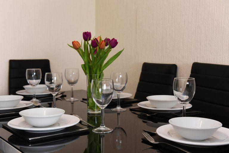 Dartside Holidays Property Accommodation Dartmouth Dining Room