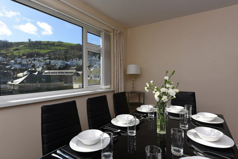 Dartside Holidays Riverside Dining Room Dartmouth