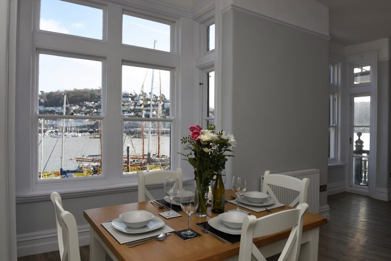 Dartside Holidays The Angel Living Room Accommodation Property Dartmouth