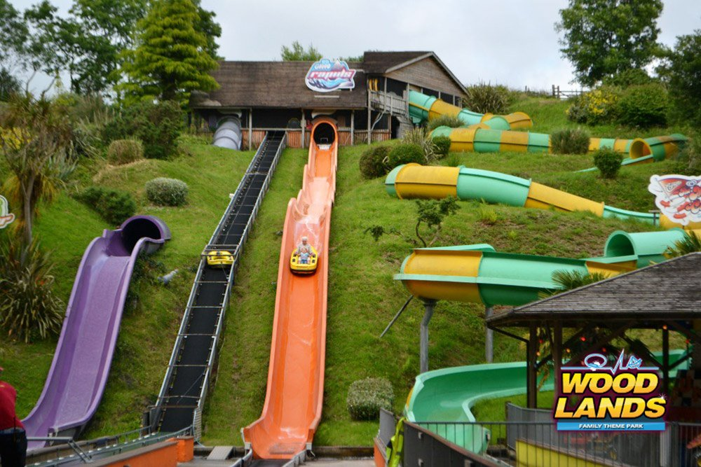 Woodlands Adventure Park in Devon, near Dartmouth