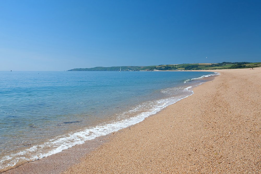 Slapton sands Beach, South hams, Devon