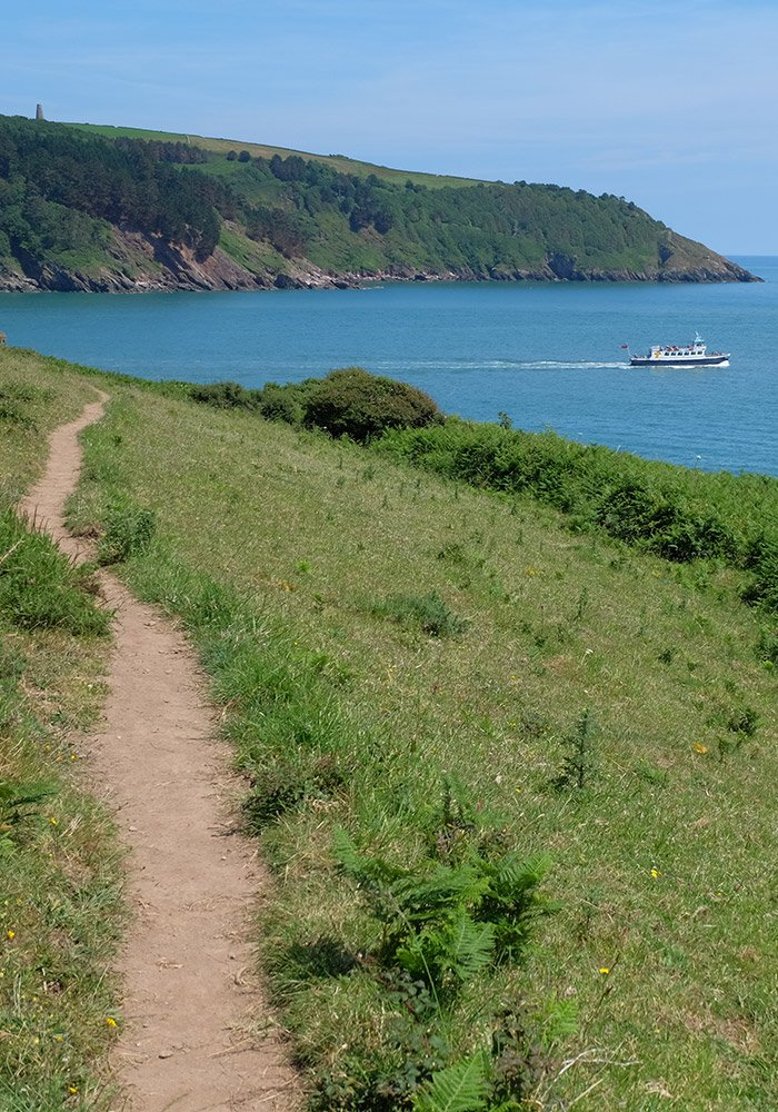 Dartside Walking Coastal Paths Dartmouth